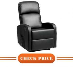 comfortable recliners for small spaces