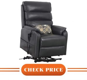 most comfortable recliners for bad back