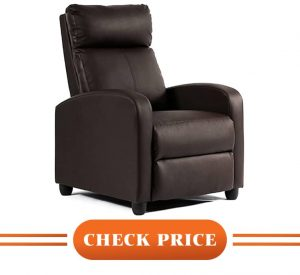 best real leather recliner