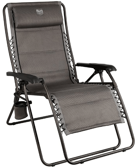 best Timber Ridge Balsam Deluxe Zero Gravity Lounger