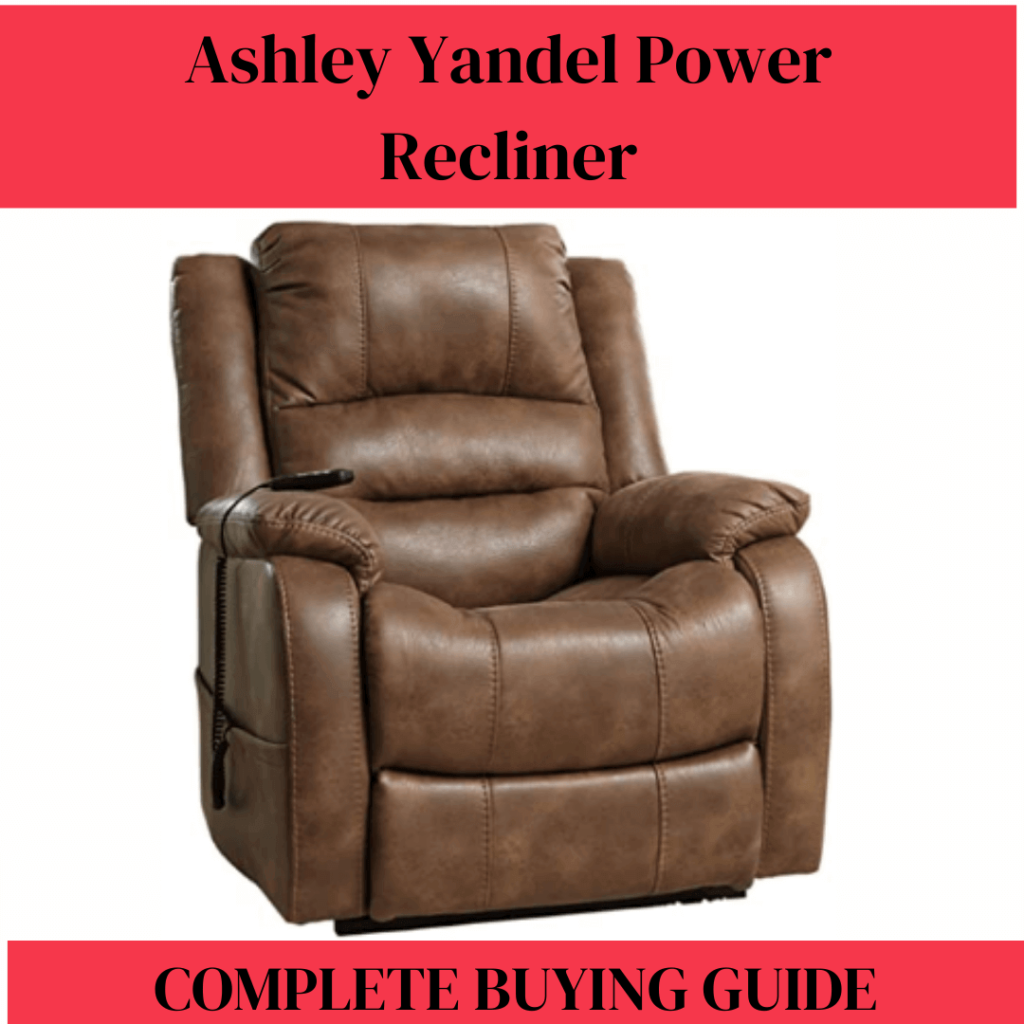 ashley yandel power recliner